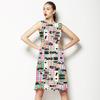 Light Treads Dimly Through Subtle Seismic Pockets (Dress)