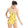548 Yellow Roses Print (Swimsuit)