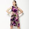 547 Violet Daisy Print (Dress)