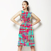 Multicolour Texture (Dress)
