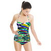 Colorful Brush Strokes (Swimsuit)