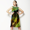 Green Feather Design (Dress)