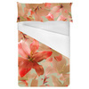 541 Big Pink Iris Floral Print (Bed)