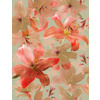 541 Big Pink Iris Floral Print (Original)