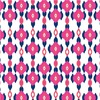 Pink & Navy Ogee Chain (Original)