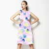 Abstract Watercolor Bellflowers (Dress)
