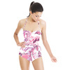 Abstract Waves Pattern (Swimsuit)