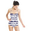 Anchor Stripe (Swimsuit)