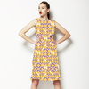Lilac and Tangerine Interlace (Dress)