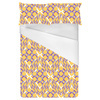 Lilac and Tangerine Interlace (Bed)