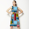 Geometric Print Pattern0001 (Dress)