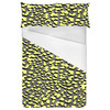 Seamless Yellow Textural Leopard Pattern (Bed)