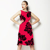 Block Stencil Rose (Dress)