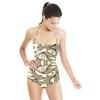 Geometric Repeat Pattern (Swimsuit)