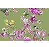 Digital Blossom Bird Print (Original)
