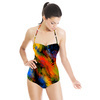 Abstract Black Background (Swimsuit)