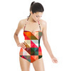 Geometric Rose Garden (Swimsuit)