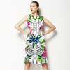 Tropical Bird Scene (Dress)
