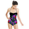 Embroidered Florals (Swimsuit)