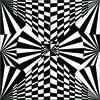 Op Art Optical Illusion (Original)