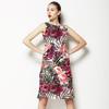 Tropical Watercolour Rose (Dress)