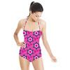 Pink & Purple Flowers (Swimsuit)