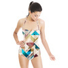 Geometric Textures (Swimsuit)