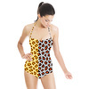 2 Cute Leopard Repeat Patterns (Swimsuit)