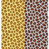 2 Cute Leopard Repeat Patterns (Original)