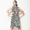 Scribbled Zebra Pattern (Dress)