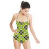 Asian Motif Pattern (Swimsuit)