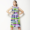 Multicolor Abstract Seamless Pattern. Vector Illustration (Dress)