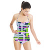 Multicolor Abstract Seamless Pattern. Vector Illustration (Swimsuit)