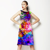 Vibrant Abstract Floral (Dress)
