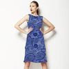 Indigo Paisleys (Dress)