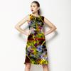 Electric Yellow Bloom (Dress)