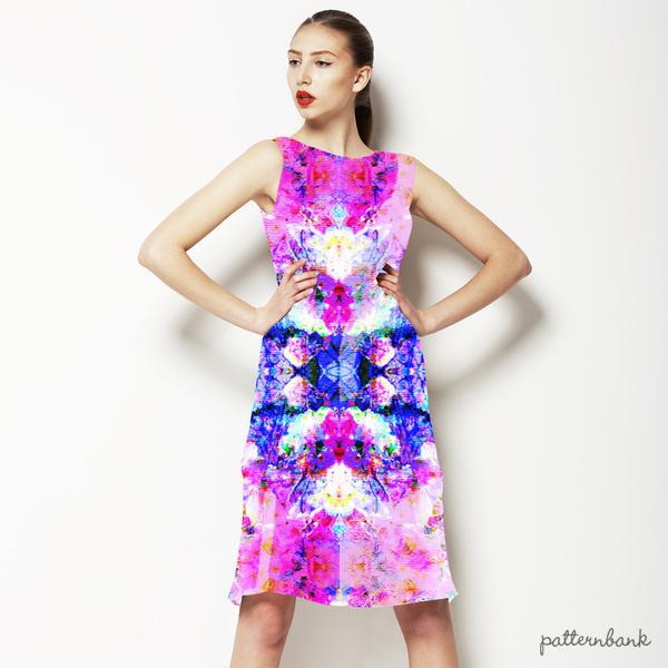 Pink Tropical Print
