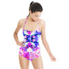 Pink Tropical Print (Swimsuit)