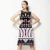 African Pattern Syncopated (Dress)