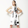 Black White Tropicana (Dress)