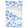Blue and White Floral (Bed)