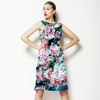 Roses on Blue (Dress)