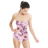 Watercolor Peony Pattern (Swimsuit)