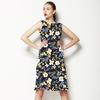 Vibrant Flower Motif (Dress)