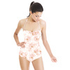 Sweet Flowers With Animal Print (Swimsuit)