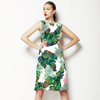 Multicolor Jungle Leaves (Dress)