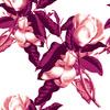 Magnolia Opulence Floral Seamless Pattern (Original)