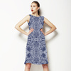 Abstract Animal Skin Repeat (Dress)