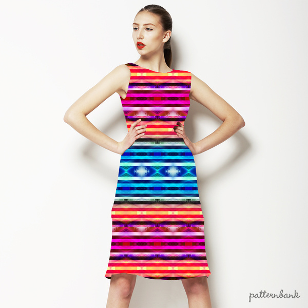 Colorful Ethnic Striped Pattern