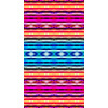 Colorful Ethnic Striped Pattern (Original)